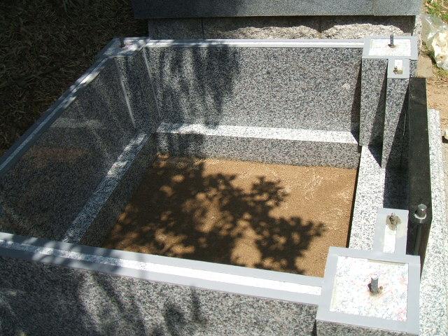 洋型ニューデザイン墓石